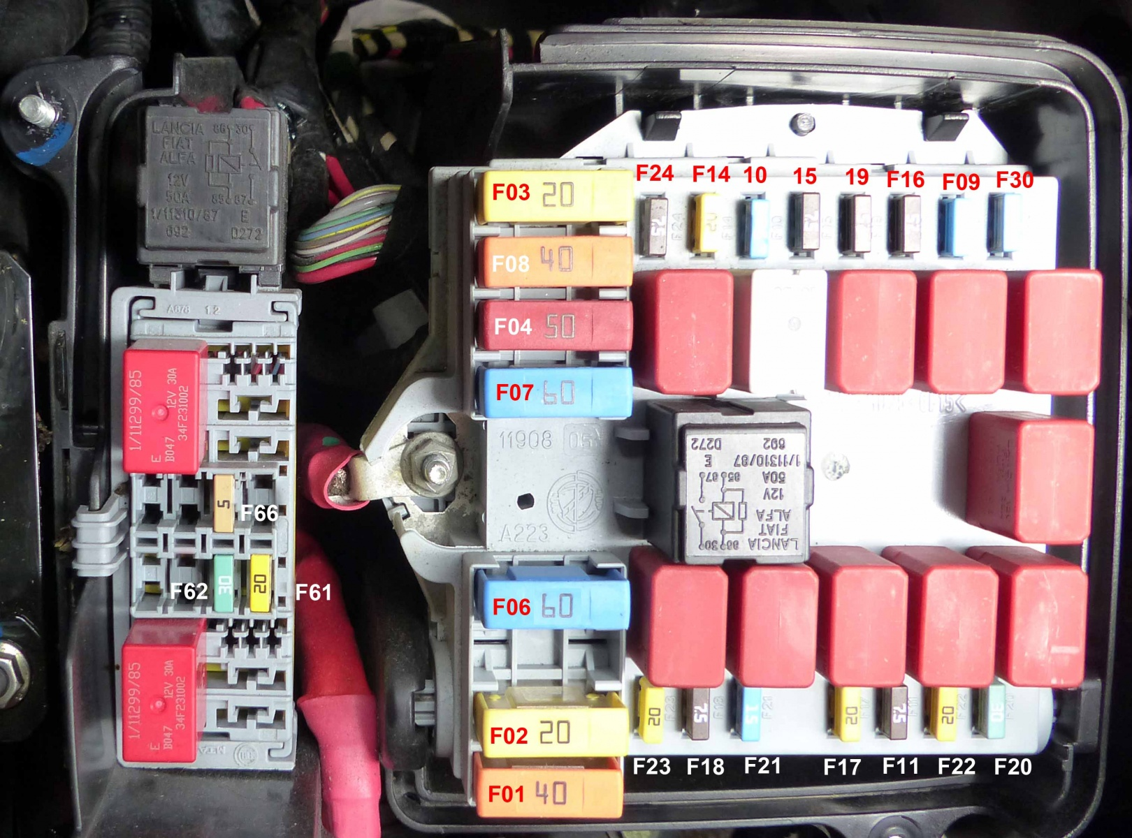 Diagram of fuses on the Promaster | Ram Promaster Forum | 2014 Ram Promaster Fuse Box |  | Ram Promaster Forum