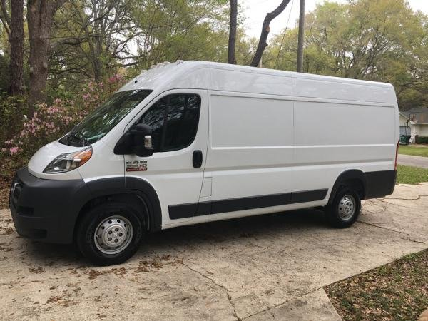 Showcase cover image for Jann Smith's 2018 Ram Promaster 3500 EXT