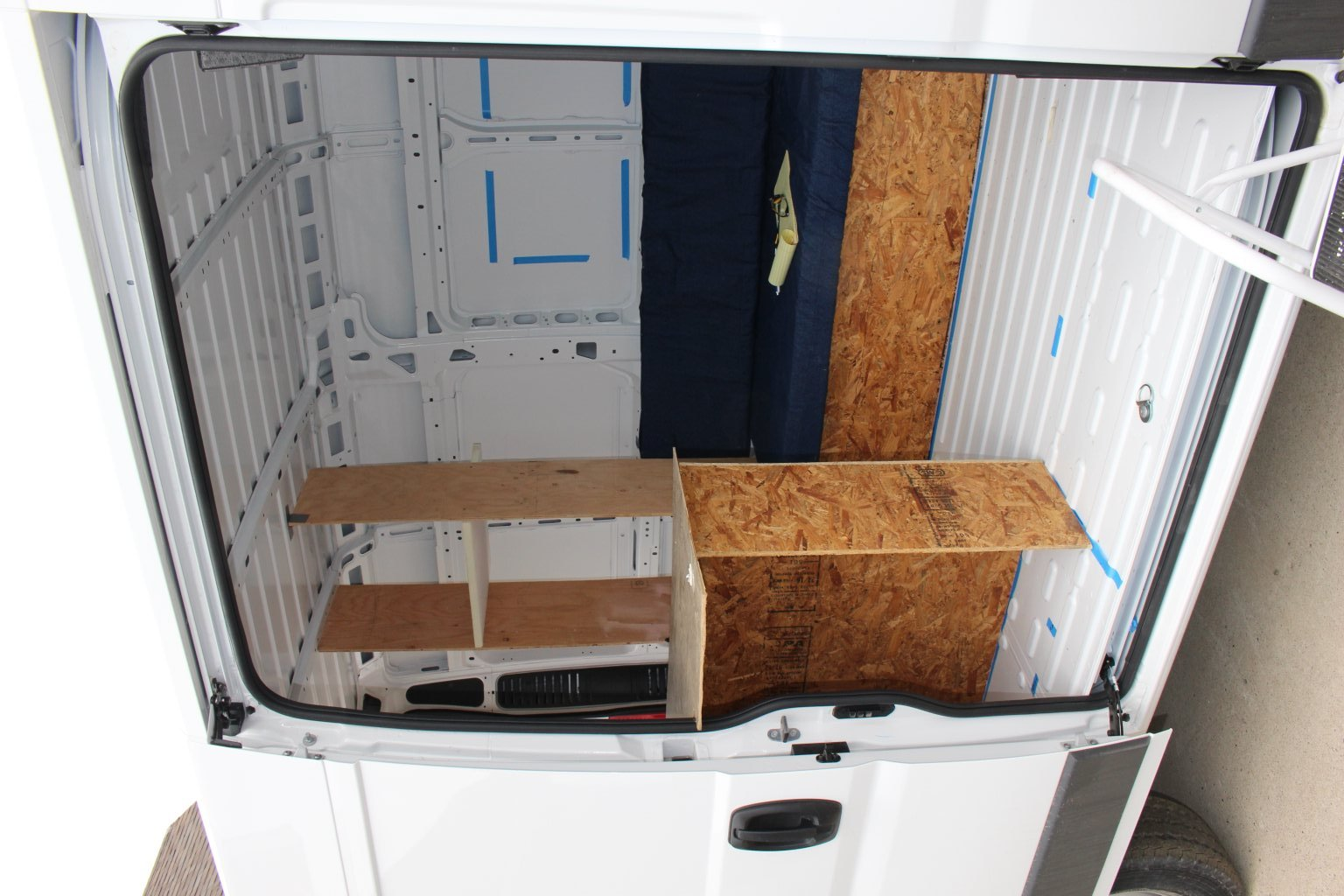 Our Simple ProMaster Conversion | Ram Promaster Forum