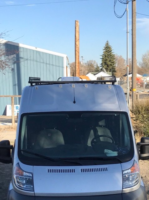 Budget Roof rack, roof basket, and awning? | Ram Promaster Forum