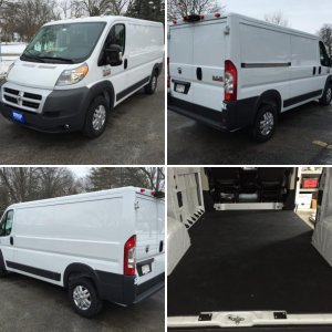 2014 ProMaster 1500 Low Roof 136 WB